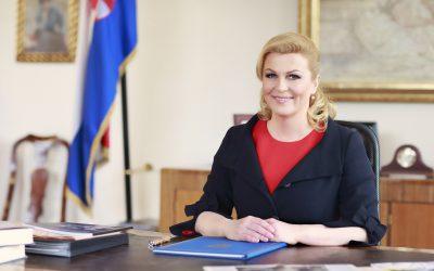 Predsjednica Republike Hrvatske Kolinda Grabar-Kitarović pokrovitelj CUC-a