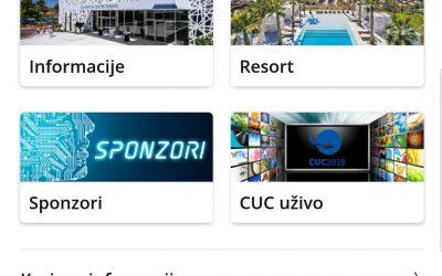 CUC 2018 mobilna aplikacija