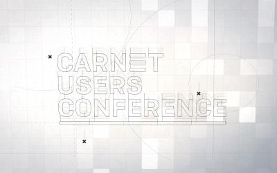 Predstavljamo vam novi vizualni identitet CARNET-ove konferencije za korisnike